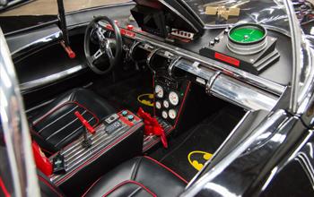 Batmobile Interior